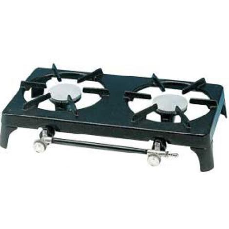 Appliances Gas Cooking Foker Cast Iron Double burner gas boiling ring
